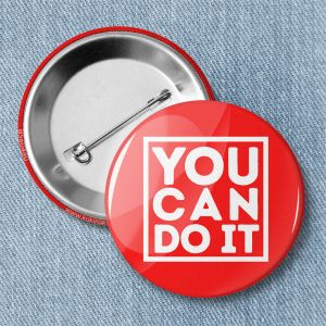 Значок «YOU CAN DO IT» B560480